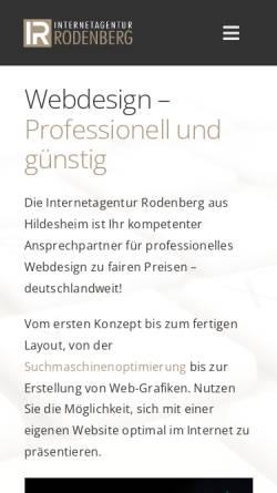 Vorschau der mobilen Webseite www.stefanrodenberg.de, Stefan Rodenberg