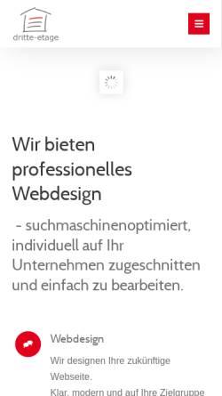 Vorschau der mobilen Webseite www.united-webdesign.de, United Webdesign