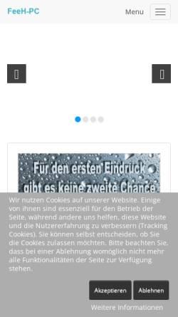 Vorschau der mobilen Webseite feeh-pc.de, FeeH-Pc
