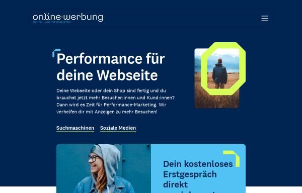 Vorschau von www.online-werbung.de, Service & media online-werbung GmbH
