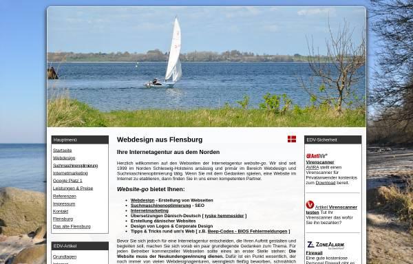 Vorschau von www.website-go.com, website-go - Hartmut Berkner