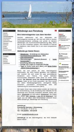 Vorschau der mobilen Webseite www.website-go.com, website-go - Hartmut Berkner