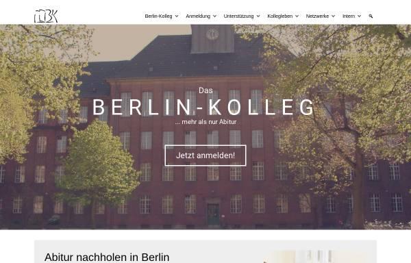 Vorschau von www.berlin-kolleg.de, Berlin Kolleg