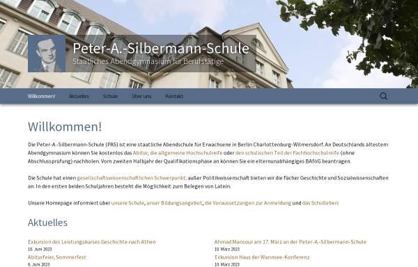 Vorschau von abendgymnasium.de, Peter-A.-Silbermann-Schule
