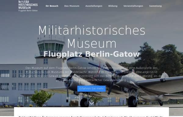 Vorschau von www.luftwaffenmuseum.de, Luftwaffenmuseum