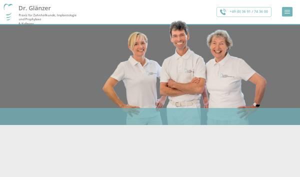 Vorschau von www.titanzahn.de, Dr. Glänzer & Partner