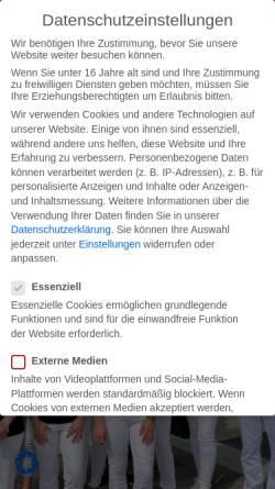 Vorschau der mobilen Webseite www.zahnarztpraxis-dietel.de, Zahnarztpraxis Dietel