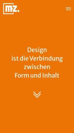 Vorschau der mobilen Webseite www.webdesign-und-medien.de, Webdesign und Medien
