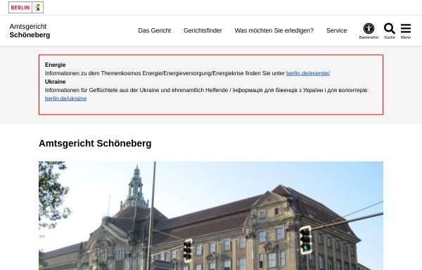 Vorschau von www.berlin.de, Amtsgericht Schöneberg