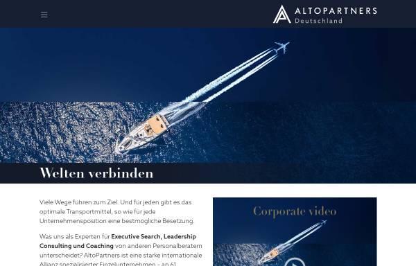 Vorschau von altopartners.de, Becker Management Consulting GmbH