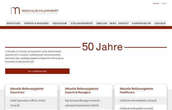 Vorschau von www.drmummert.de, Dr. Rochus Mummert & Partner Gesellschaft für Unternehmensberatung mbH