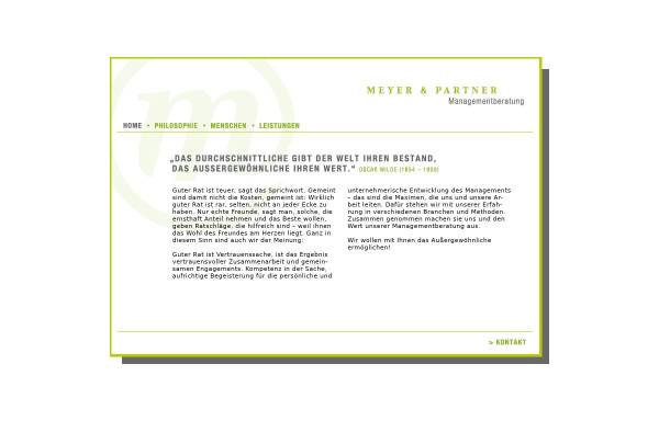 Vorschau von www.meyer-und-partner.com, Meyer & Partner