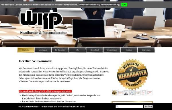Vorschau von www.wkpgmbh.de, WKP Guddorf Personalberatung GmbH