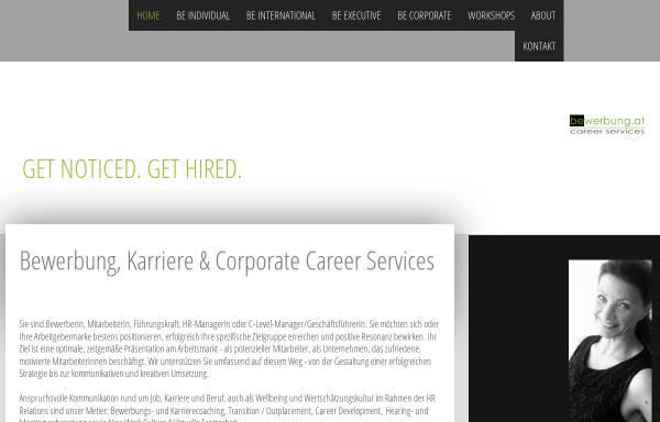 Vorschau von www.bewerbung.at, Bewerbung.at Career Services - Mag. Gabriela Novotny