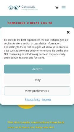 Vorschau der mobilen Webseite www.circumplex-coaching.net, Circumplex Coaching - Nadjeschda Hebenstreit
