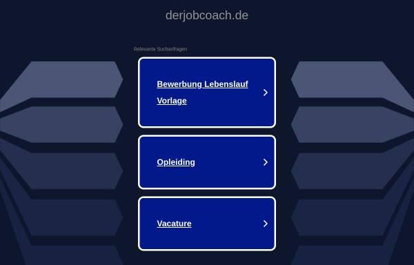 Vorschau von www.derjobcoach.de, Der JobCoach - Knuth Thiele