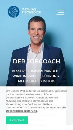 Vorschau der mobilen Webseite www.derjobcoach.de, Der JobCoach - Knuth Thiele