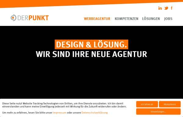 Vorschau von www.derpunkt.de, DER PUNKT GmbH − Agentur für Design & Lösung
