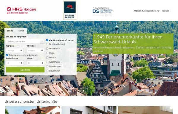 Vorschau von freiburg.fit-tourist.de, Hotels, Pensionen und Ferienwohnungen