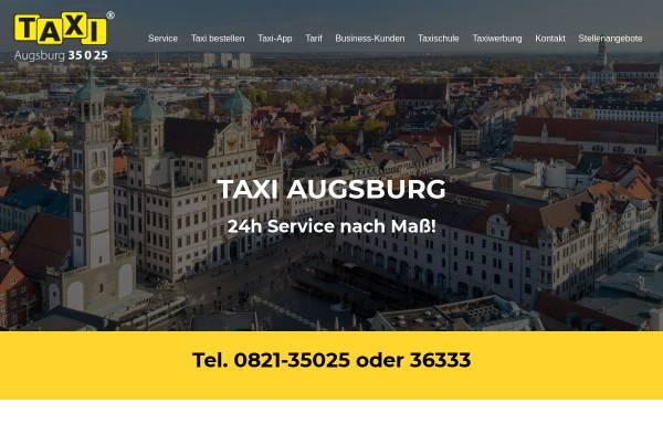Vorschau von taxi-augsburg.de, Taxi Augsburg eG