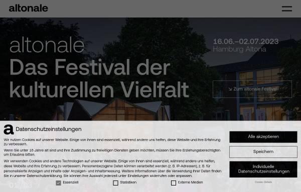 Vorschau von www.altonale.de, Altonale