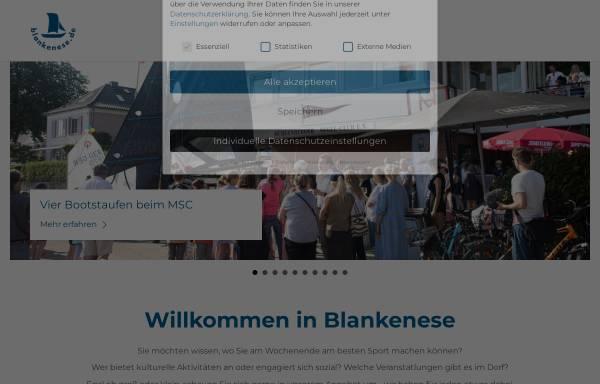 Vorschau von www.blankenese.de, Blankenese