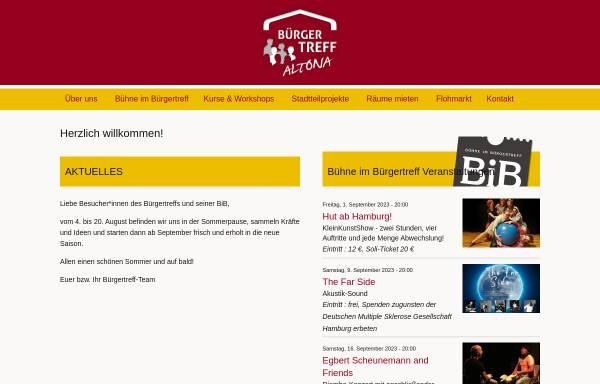 Vorschau von www.buergertreff-altonanord.de, Bürgertreff Altona-Nord