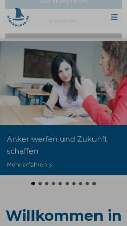 Vorschau der mobilen Webseite www.hamburger-westen.de, Hamburger Westen