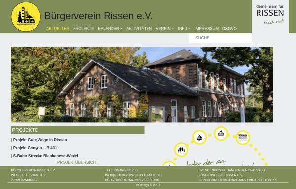 Vorschau von www.rissen.de, Rissen