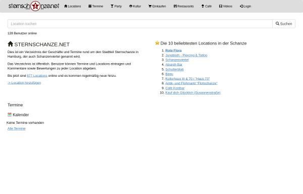 Vorschau von www.sternschanze.net, Sternschanze.net