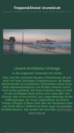 Vorschau der mobilen Webseite www.krumdal.de, Treppenviertel-News
