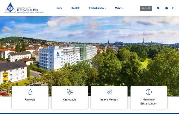 Vorschau von www.kurpark-klinik.com, Kurpark Klinik