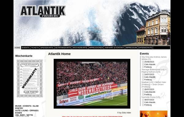 Vorschau von www.cafe-atlantik.de, Café Atlantik