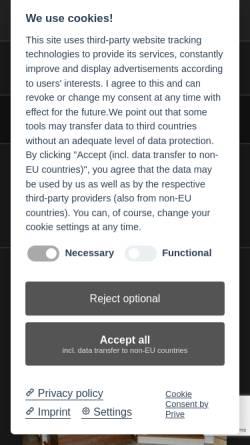 Vorschau der mobilen Webseite treppen-moesenlechner.de, Treppenbau Mösenlechner
