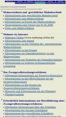 Verfahrensablauf Im Mahnverfahren Mahnverfahren Recht Arbgbayernde