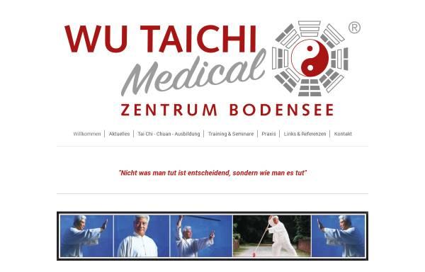 Vorschau von www.wu-tai-chi-bodensee.de, Wu-Tai-Chi-Zentrum Bodensee