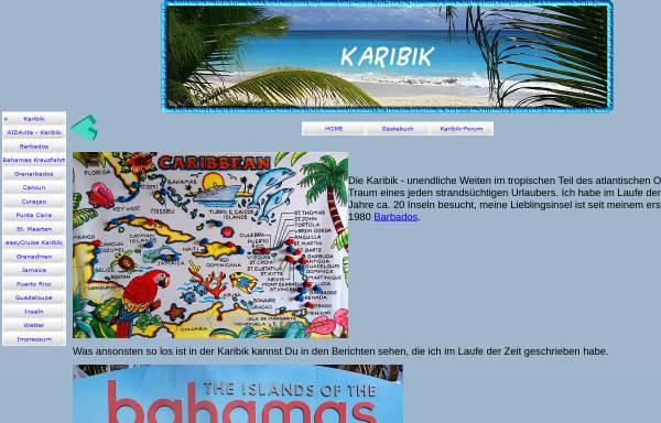 Vorschau von www.lalasreisen.de, Karibik Reisen [Volker Göke]
