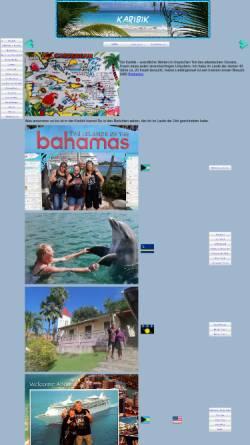Vorschau der mobilen Webseite www.lalasreisen.de, Karibik Reisen [Volker Göke]
