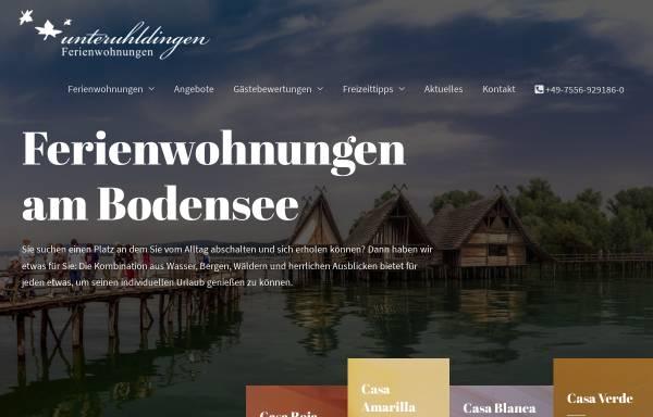 Vorschau von www.ferienwohnung-in-unteruhldingen.de, Ferienwohnungen Domizil