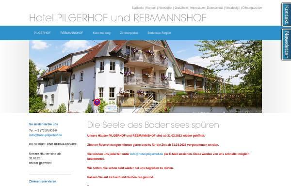 Vorschau von www.hotel-pilgerhof.de, Hotel Pilgerhof