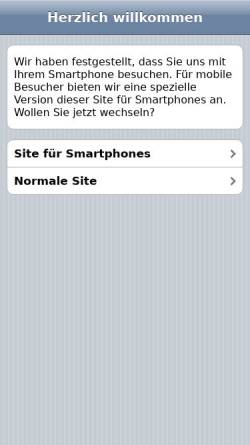 Vorschau der mobilen Webseite www.hotel-pilgerhof.de, Hotel Pilgerhof