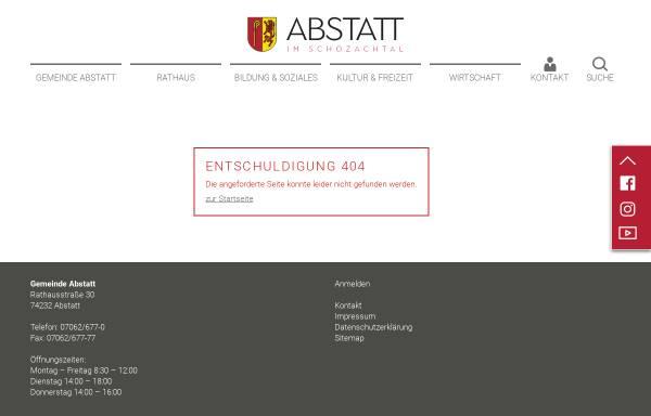 Vorschau von www.abstatt.de, Heimatmuseum Abstatt