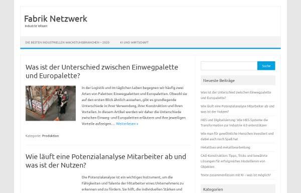Vorschau von www.fabrik-net.de, Fabrik Bruchsal