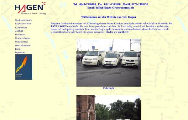 Vorschau von www.hagen-grossraumtaxi.de, Hagen Grossraumtaxi
