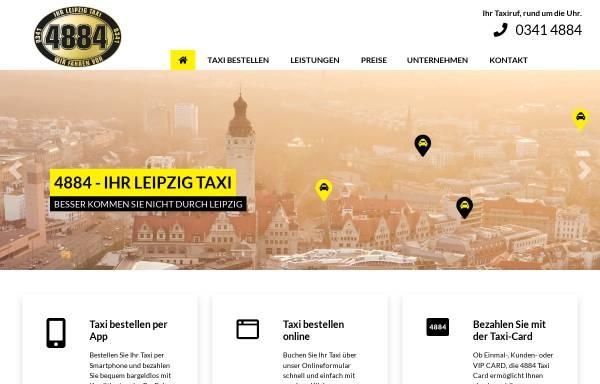 Vorschau von www.taxi4884.de, 4884 - Ihr Funktaxi GmbH
