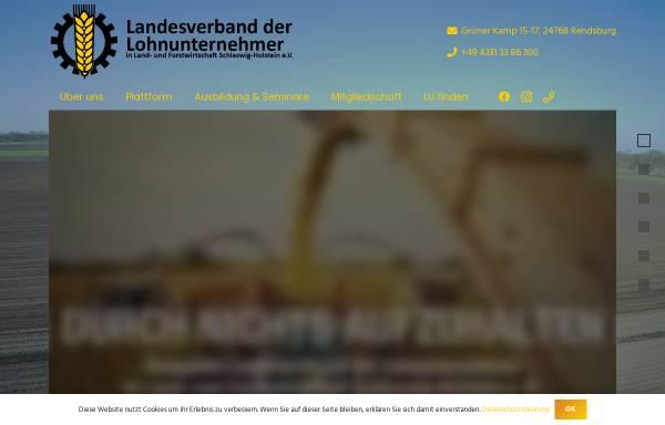 Vorschau von www.lohnunternehmer.de, Landesverband der Lohnunternehmen