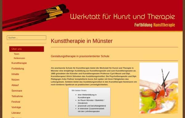Vorschau von www.werkstattfuerkunstundtherapie.de, Werkstatt für Kunst und Therapie