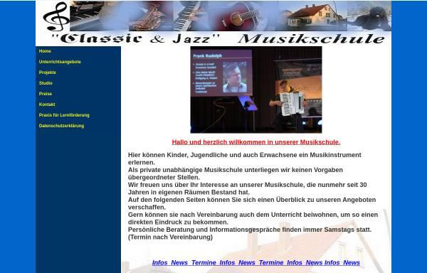 Vorschau von www.musikschule-bielefeld.de, Klassic & Jazz Musikschule