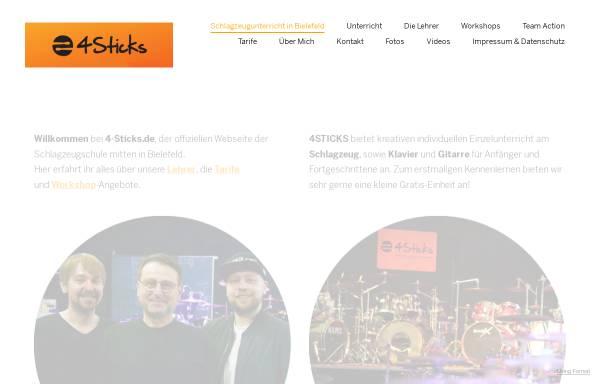 4Sticks Musikschule: Unterricht, Musik 4sticks.format.com