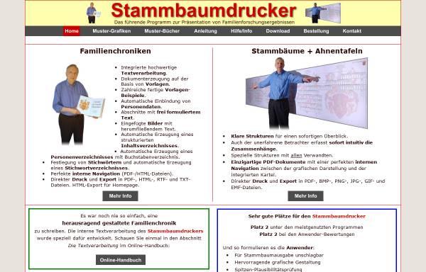 Vorschau von www.stammbaumdrucker.de, Stammbaumdrucker